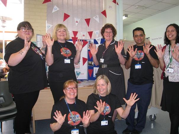 Hand Hygiene Day Eastbourne DGH