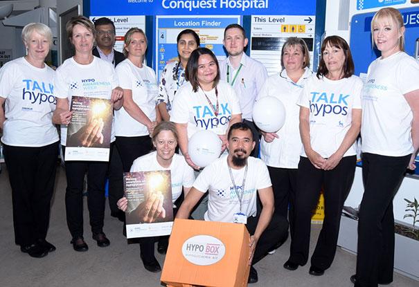 Diabetes team at Conquest Hospital