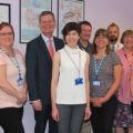 Eastbourne MP visits Audiology thumbnail image