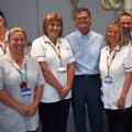 Local MP visits radiology department thumbnail image