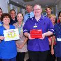 Winners of ESHT's 'Clean Care Award' thumbnail image