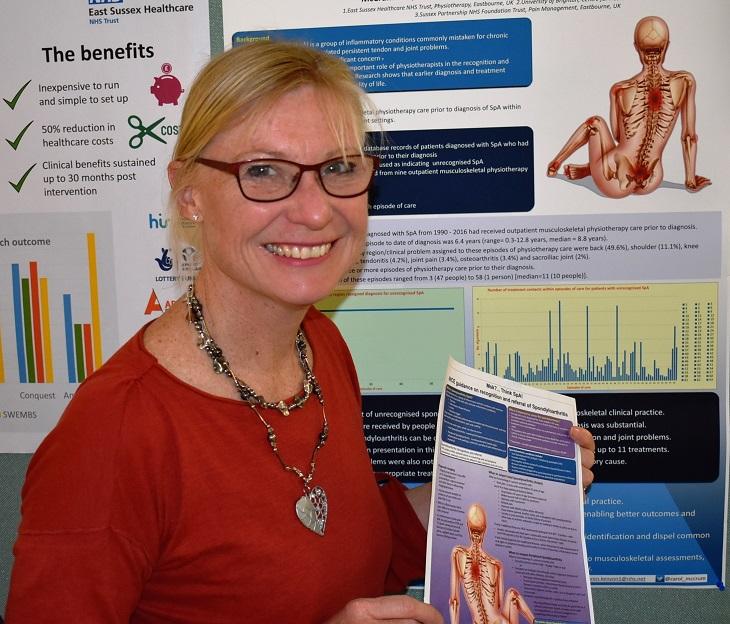 Consultant Physiotherapist, Dr Carol McCrum