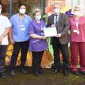 Paediatric Team win 'Hero of the Month' award thumbnail image